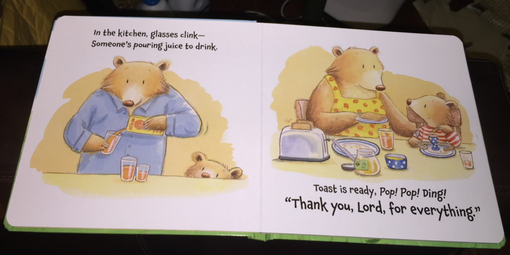 a good dad in a childrens book!